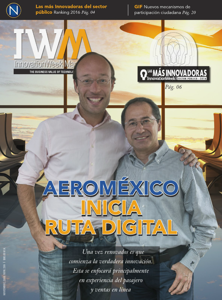 InnovationWeek Magazine 259 — Noviembre 2016 259