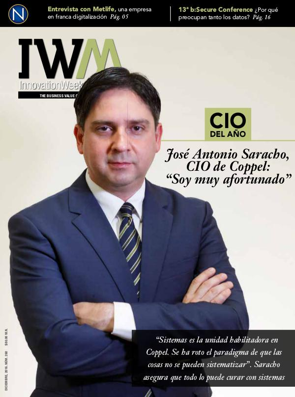 InnovationWeek Magazine 260 — Diciembre 2016 16