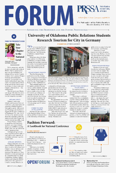 FORUM Fall 2014 Vol. 47, Issue 1