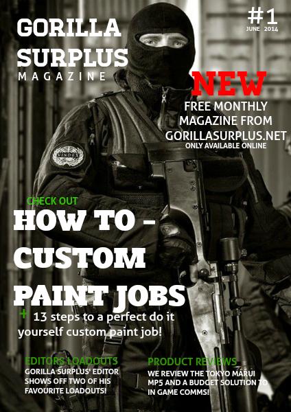 Gorilla surplus magazine June 2014