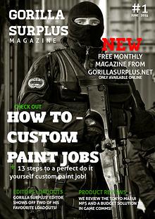 Gorilla surplus magazine