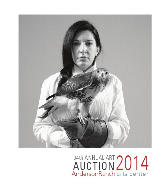 34th Annual Anderson Ranch arts center ART AUCTION CATALOG 2014