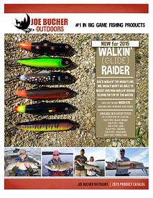 2015 Joe Bucher Outdoors Catalog
