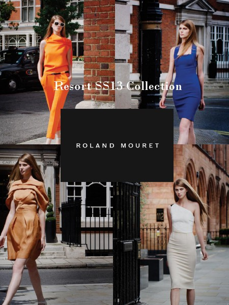 Roland Mouret Resort SS13 Collection Roland Mouret Resort SS13 Collection Jul. 2014