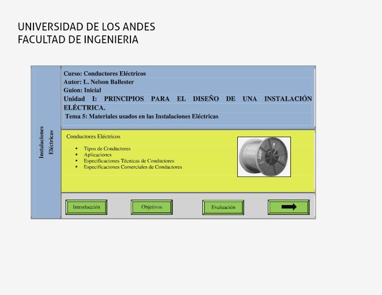 Unidad III: Principios Básicos de las Instalaciones Eléctricas. Tema 3: Materiales usados en las IE. Sesión: Conductores Eléctricos vol 3,