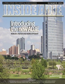 Inside ADJE - Summer 2014