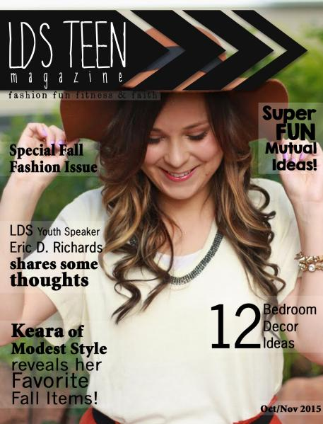 LDS Teen Magazine Oct/Nov 2015