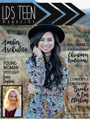 LDS Teen Magazine Dec/Jan 2016-1017