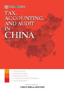 Tax, Accounting and Audit in China 2015 - Preview