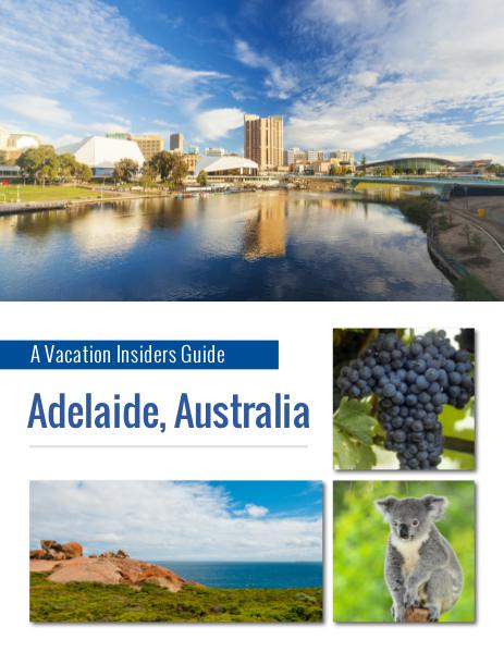 Guest Hook Travel Guides Adelaide Insider Guide