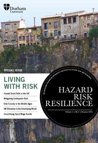 Hazard Risk Resilience Magazine Volume 1 Issue 3