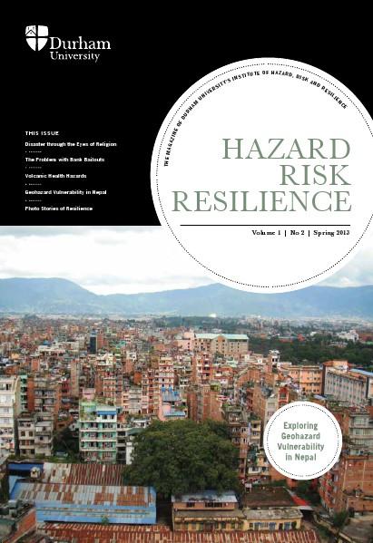 Hazard Risk Resilience Magazine Volume 1 Issue 2