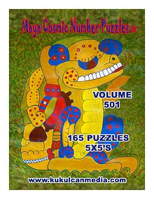 MAYA COSMIC NUMBER PUZZLES, VOL.501