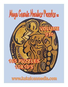 MAYA COSMIC NUMBER PUZZLES  VOLUME 108