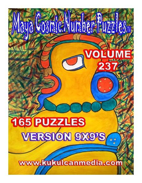 MAYA COSMIC NUMBER PUZZLES VOLUME 237 MAYA COSMIC NUMBER PUZZLES   VOLUME 237