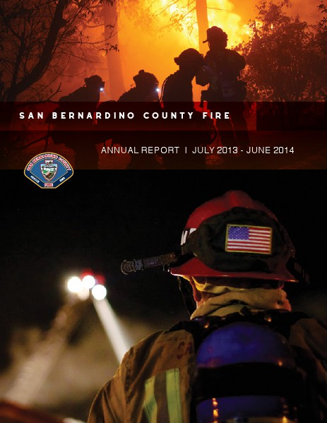 SBCFire Annual Report FY13-14