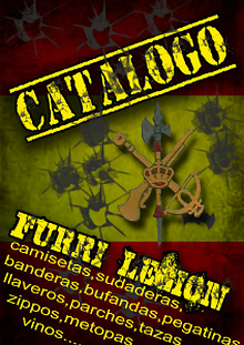 catalogo furri legion camisetas