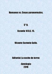 Humanos vs. Cosas paranormales