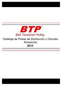 Catalogo de Tensores de Distribucion y Accesorios