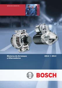 Catalogo de Arranques y Alternadores Bosch Oct-2012