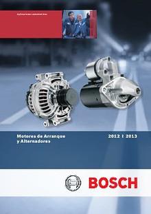 Catalogo de Arranques y Alternadores Bosch