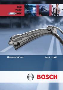 Catalogo de Escobillas Limpiaparabrisas Bosch 2012-2013 Nov-2012