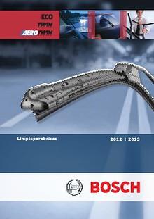 Catalogo de Escobillas Limpiaparabrisas Bosch 2012-2013