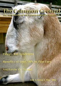 The Common Ground Vol. 6 Issue 2 Dec. 2012