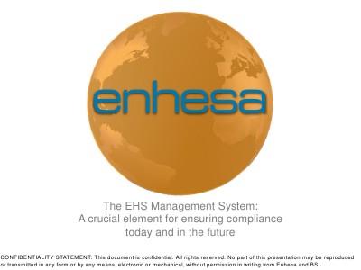 The EHS Management System