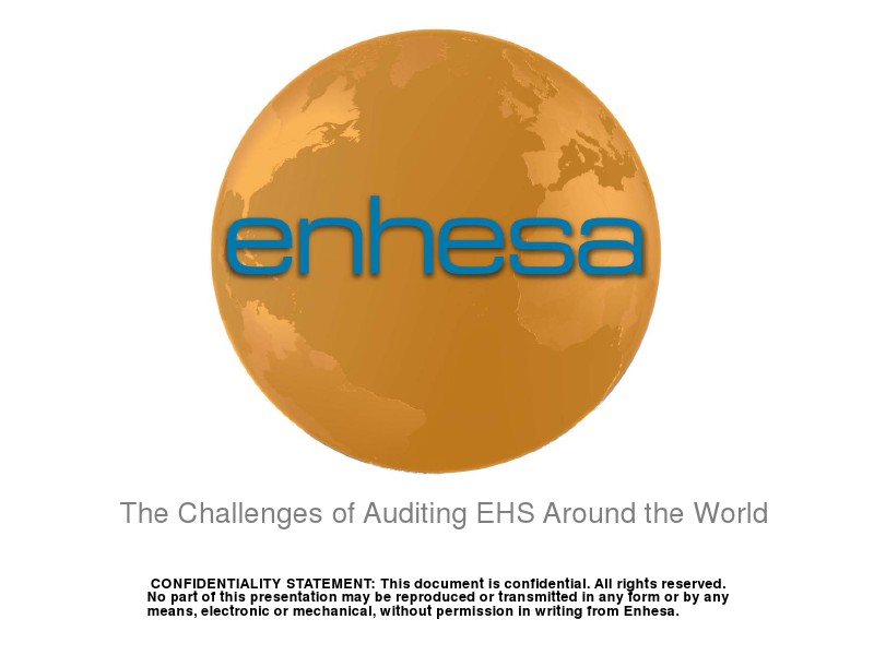 The Challenges of Auditing Around the World