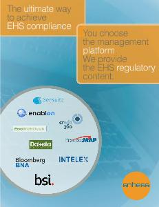 Platform Solutions - Enhesa Partnerships with Platform Providers
