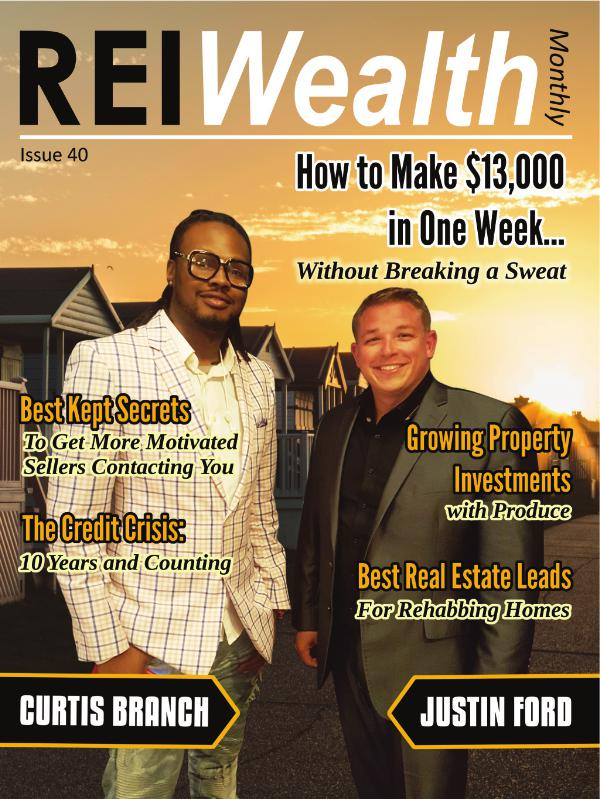 REI WEALTH MONTHLY issue 40