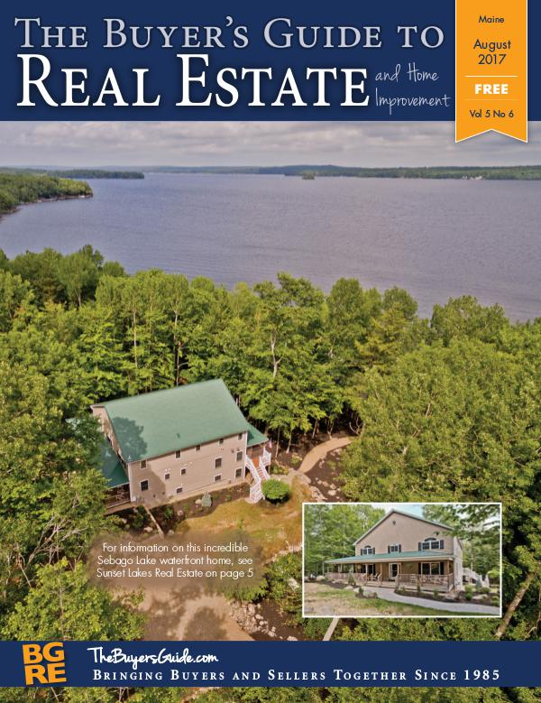 Maine Buyer's Guides August 2017 - Maine