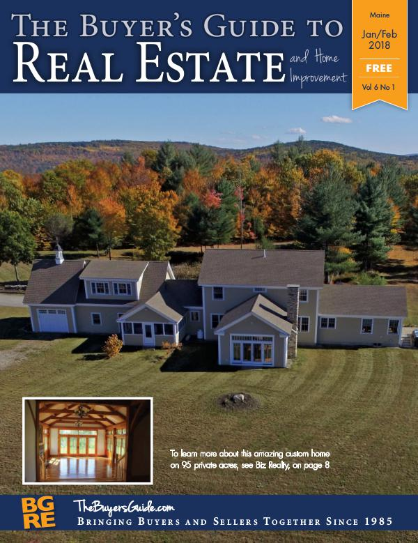 Maine Buyer's Guides January-February  Maine