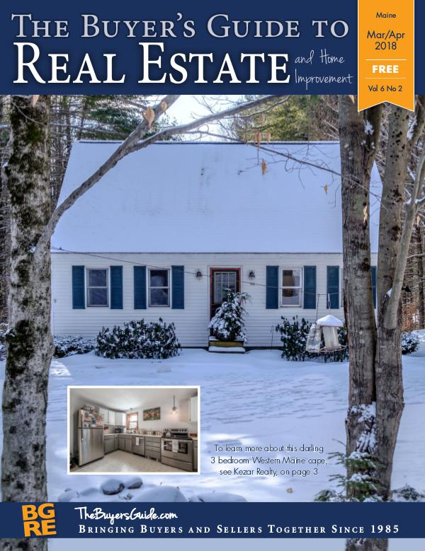 Maine Buyer's Guides March/April 2018 - Maine