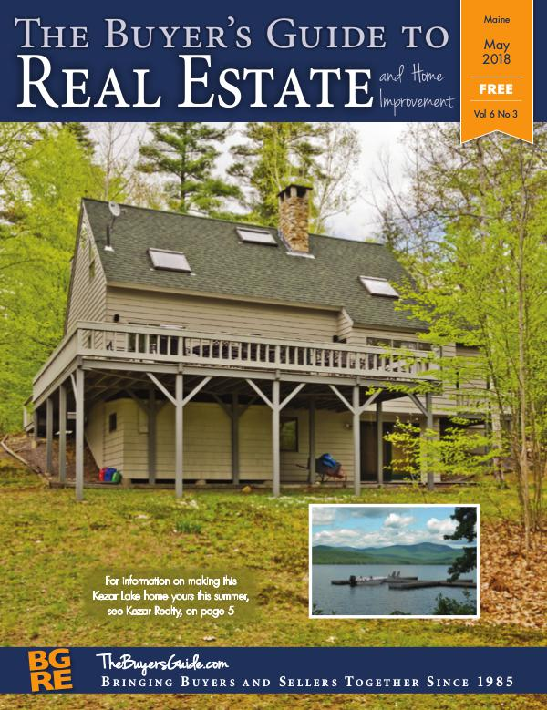 Maine Buyer's Guides May 2018 - Maine