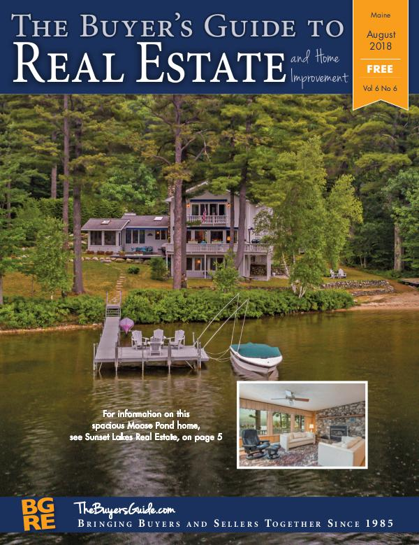 Maine Buyer's Guides August 2018
