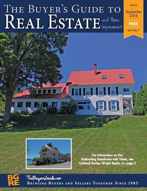 Maine Buyer's Guides September 2018