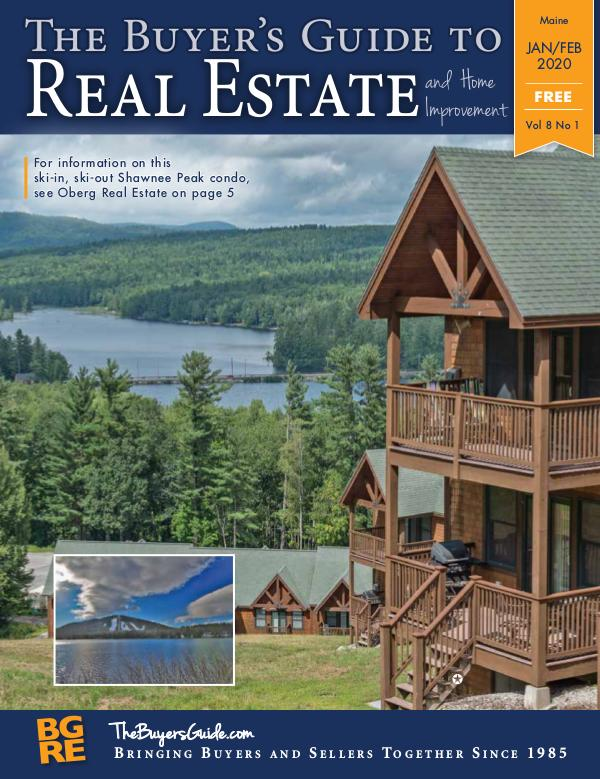 Maine Buyer's Guides JAN/FEB 2020