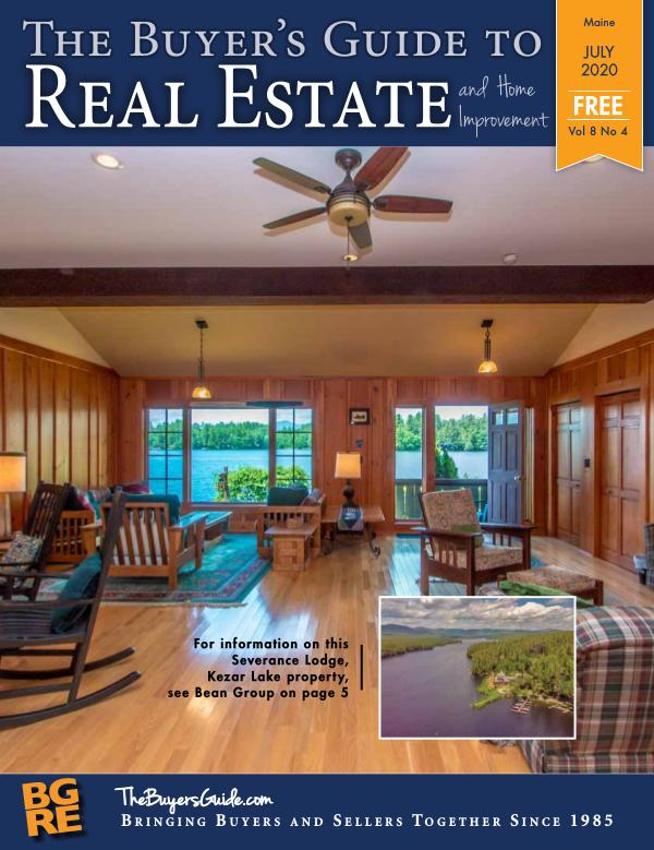Maine Buyer's Guide to Real Estate JULY 2020