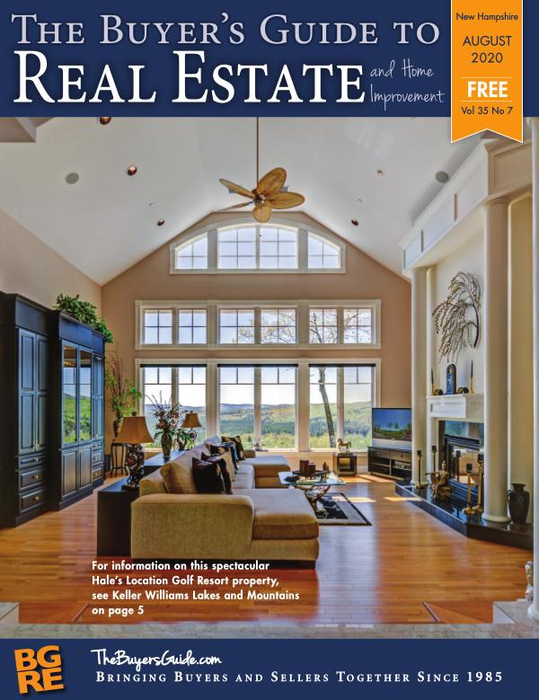 New Hampshire Buyer's Guide to Real Estate August 2020