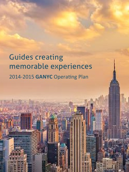 GANYC 2014-2015 Operating Plan
