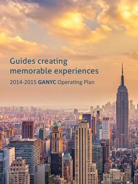 GANYC 2014-2015 Operating Plan