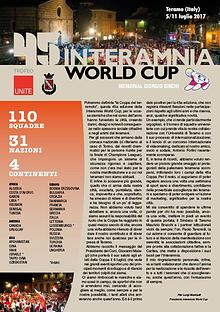 45^ Interamnia World Cup magazine. 2017