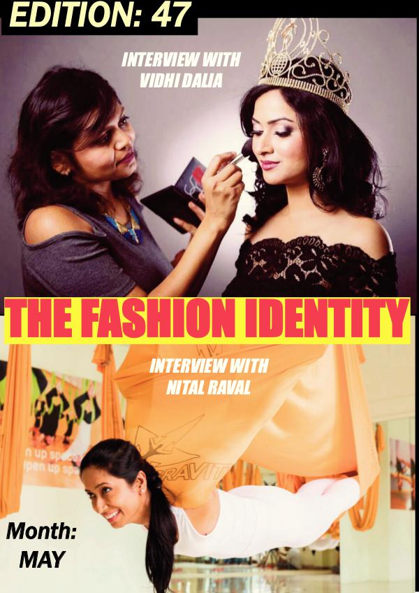 THE FASHION IDENTITY Edition 47