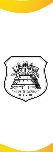 The White Elephant's Beer Menu