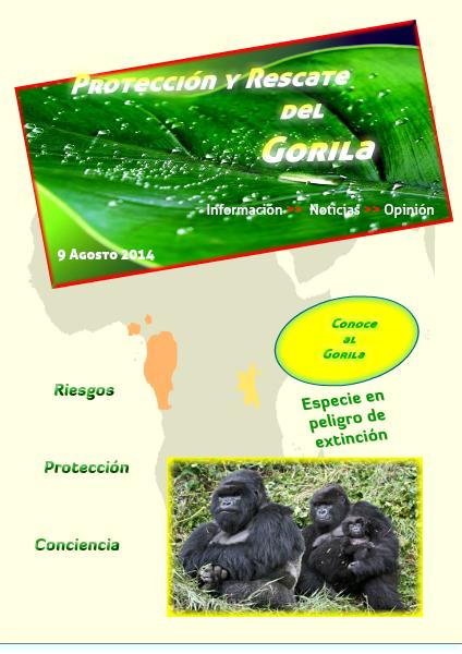 Especies en peligro de extinción Vol. 1