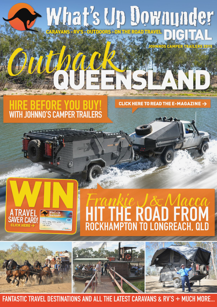 What's Up Downunder Digital 2015 Johnno's Issue No.1