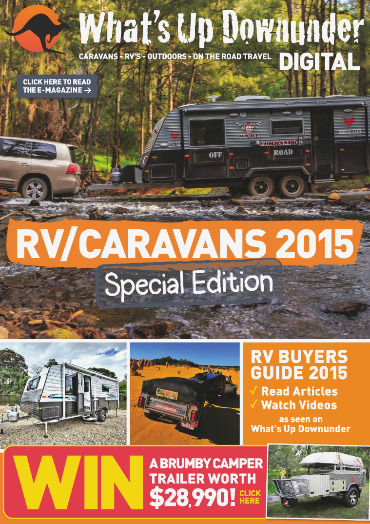 What's Up Downunder Digital 2015 CARAVANS - RV'S - OUTDOORS - ON THE ROAD