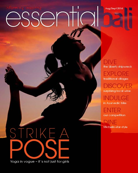 Essential Bali Issue 1 Aug/Sept 2014
